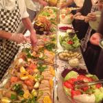 Part of the buffet