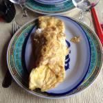 Omelette aux crevettes périmées