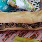 LARGE CHEESE STEAK