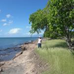 Coast near Fort Charles