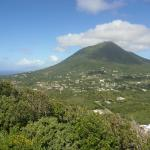 Nevis clear of cloud! (10 minutes in the whole holiday)