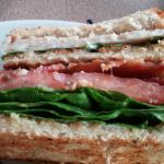 Club sandwich, up close and personal