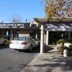 Front of restaurant