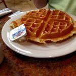 A waffle!