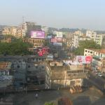 View of Chittagong from hotel room