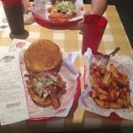 Normal Burger at Fudds.