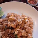 Phad Thai was good