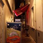 ruelle du restaurant