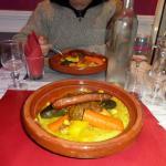 l'assiette de couscous