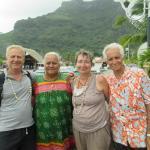 notre départ de Bora