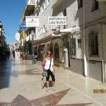 One of the beautiful streets of the CARIHUELA