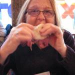 My wife is a cheap date -- we split a sandwich