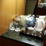 פינת הקפה בחדר