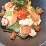 scallop risotto
