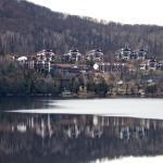Vista da Sacada para o Lago Tremblant