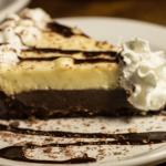 Black Bottom Rum Pie