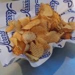 Weave chips were crispy and better than regular chips!