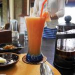 Yummy fruit drink
