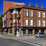 Fachada Hotel Navarro Ciudad Real