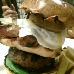 the incredible mixed grill burger