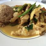 Thai Curry Chicken with brown rice