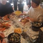 Très bon restaurant. Très accommodant.  Je recommande pour le poisson et les fruits de mer.