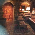 Cedar room door