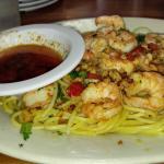 """""""Shrimp Scampi"""" was very good."""