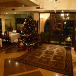 Front Lobby at Christmas time