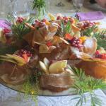 Sabaillon aux fruits