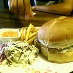 Chicken Country Side Burger