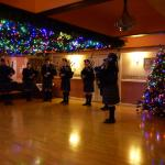 The Pipers on Christmas Eve