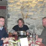 Repas entre amis autour d'une bonne raclette !!!