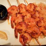 Grilled shrimp delicious
