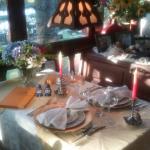 Cena romantica en hosteria Alpenhaus