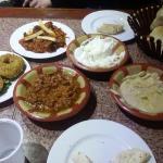 traditional arabic food.