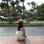 Paseando por palm beach.. sol brillante, calles limpias, playa..un paraiso...