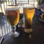 Beer and Cider on tap