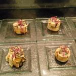Vegan Buffet: Grilled Zucchini Rolls