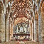 The main part of Tewkesbury Abbey