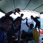 The dive crew