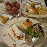 Breve resumen del Buffet desayuno espectacular que ofrece este hotel 😍