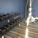 Workout facilities.