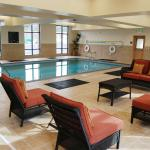 Indoor Pool, Cushioned Seating Area