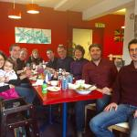 Our family gathering at Union Jack's Cafe, Skipton
