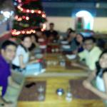 Buffet dinner with friends