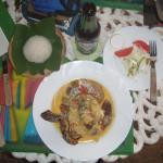 Habanera Sauce with Fish