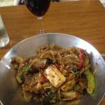 "Drunken Noodle (or ""Pad Ki Mao"" in Thai, main course in lunch set"