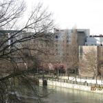 l'hôtel vu du barrage Vauban