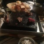 Hot Rock Beefeater plate